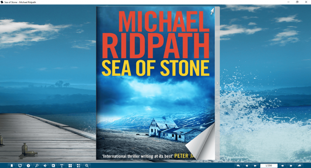 Michael Ridpath Sea Of Stone