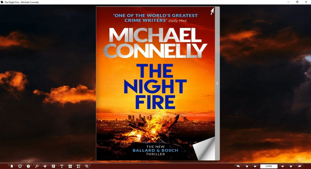 The-Night-Fire-By-Michael-Connelly-Flip-Book