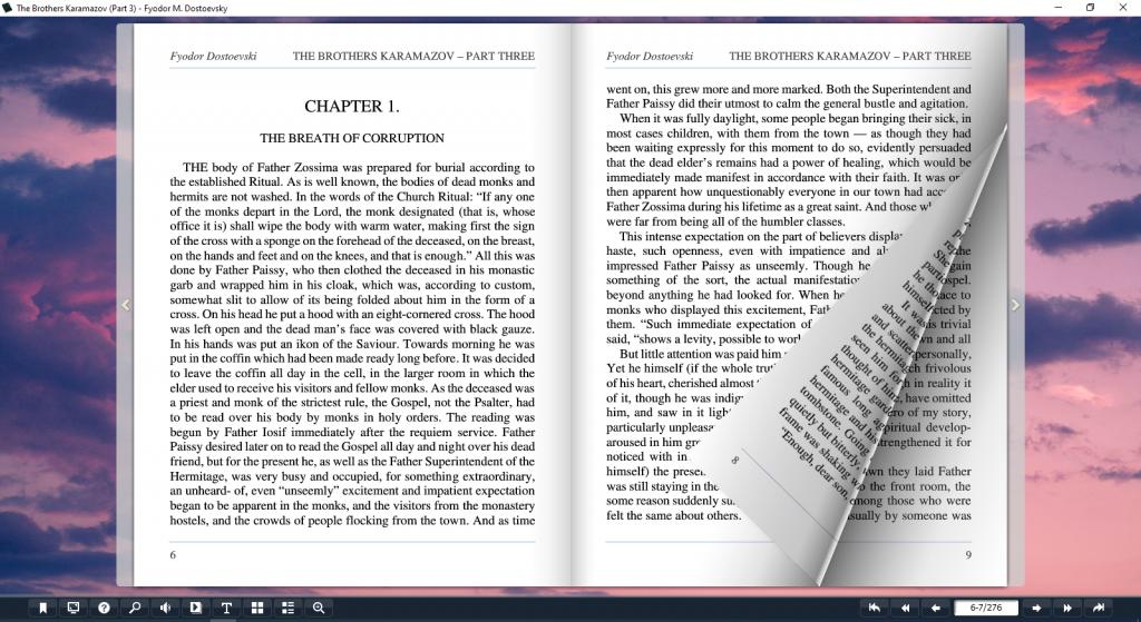 The Brothers Karamazov Book Flip presentation