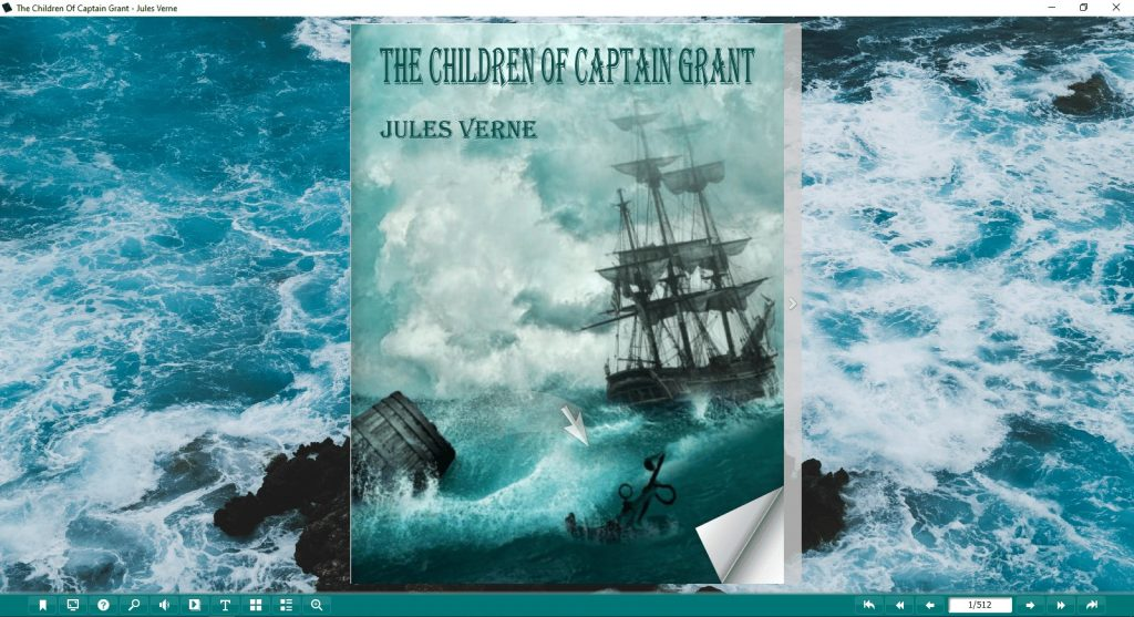 The Children of Captain Grant Pdf And Flip Book By Jules Verne - 1 Image