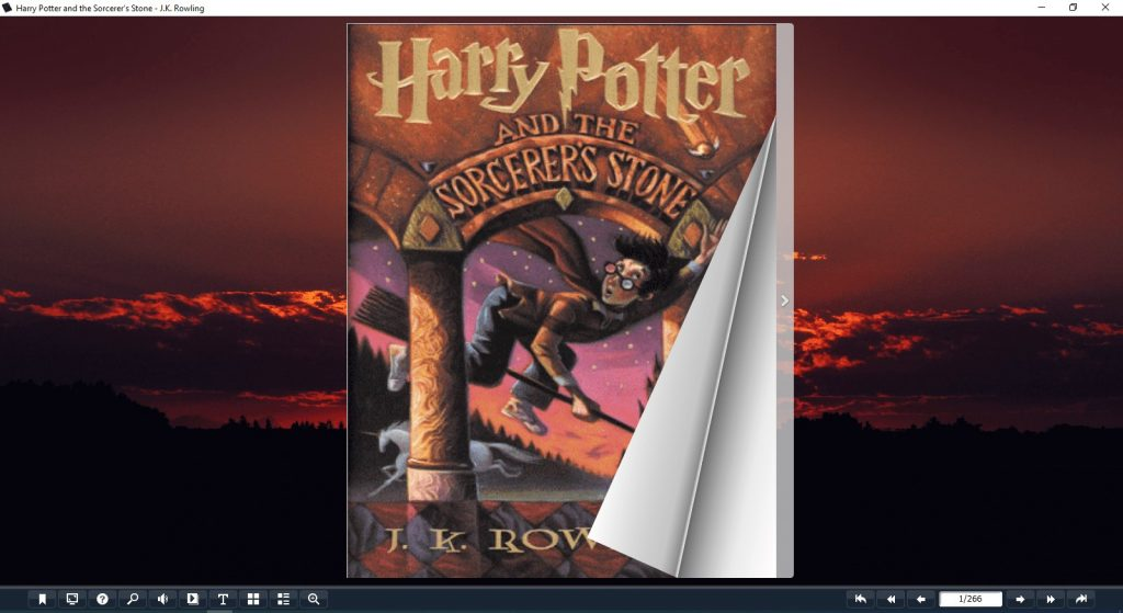 harry potter and the sorcerer's stone pdf book - flip image 1