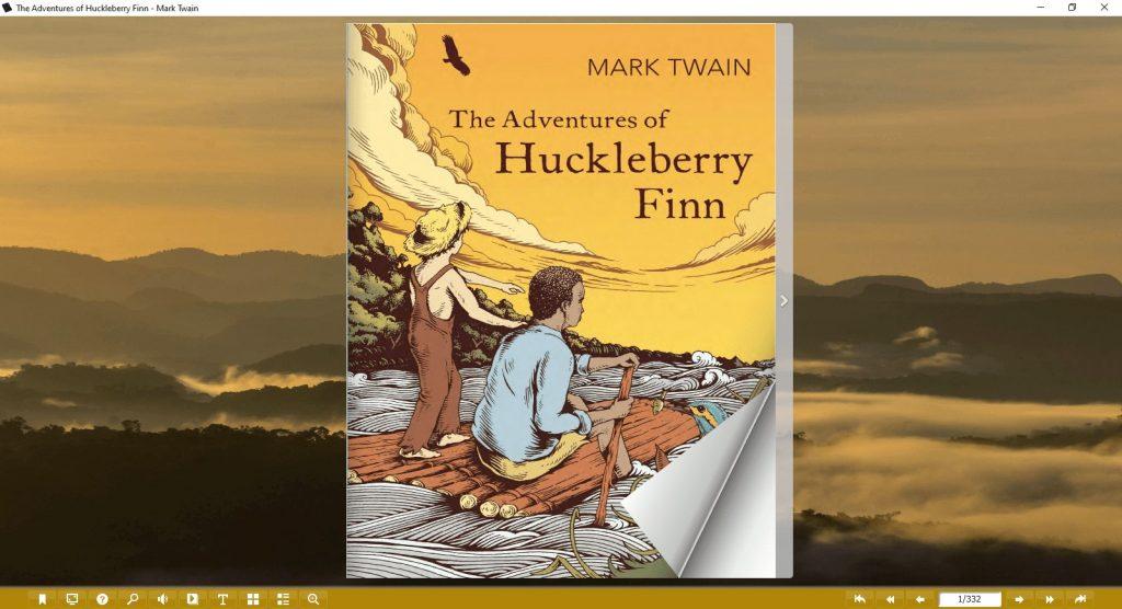the adventures of huckleberry finn pdf & flip book 1