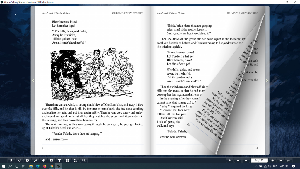 grimm's fairy tales pdf - flip