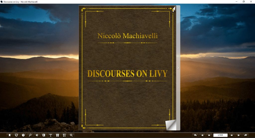 discourses on livy pdf