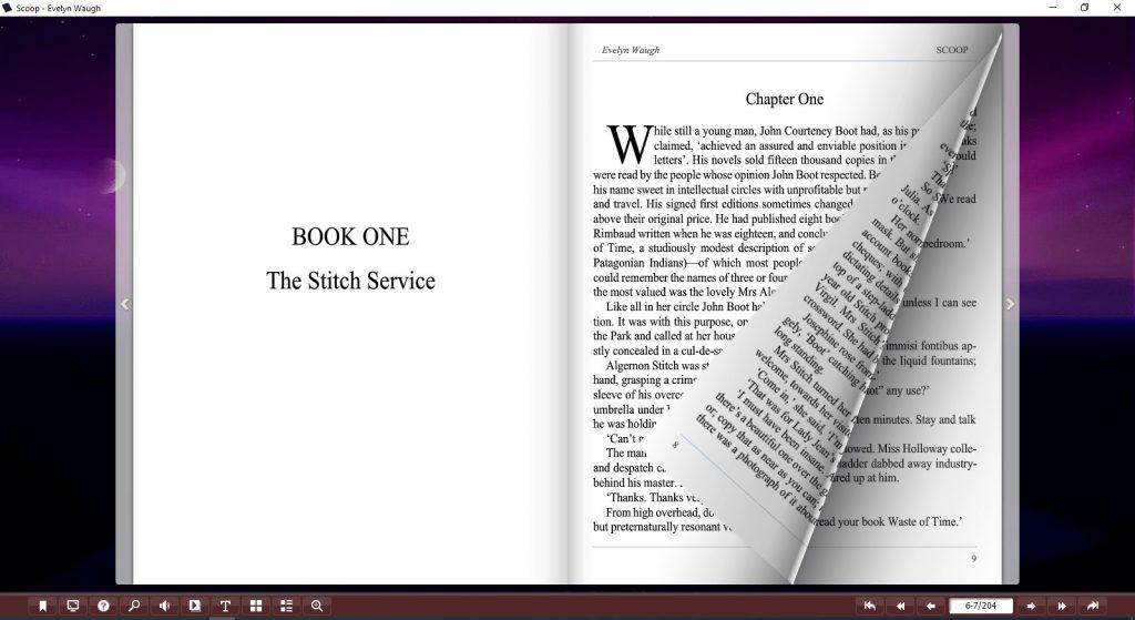 scoop evelyn waugh pdf