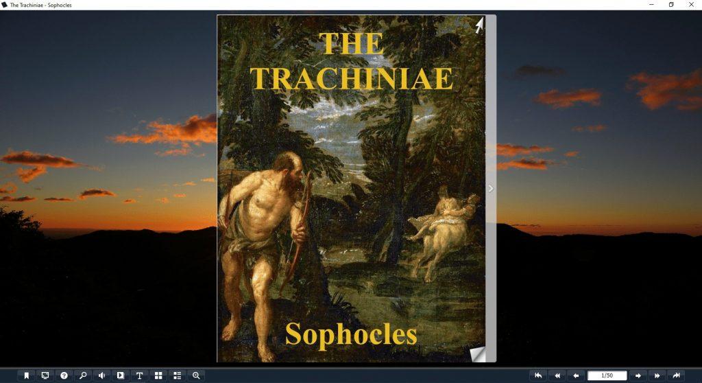 the trachiniae pdf
