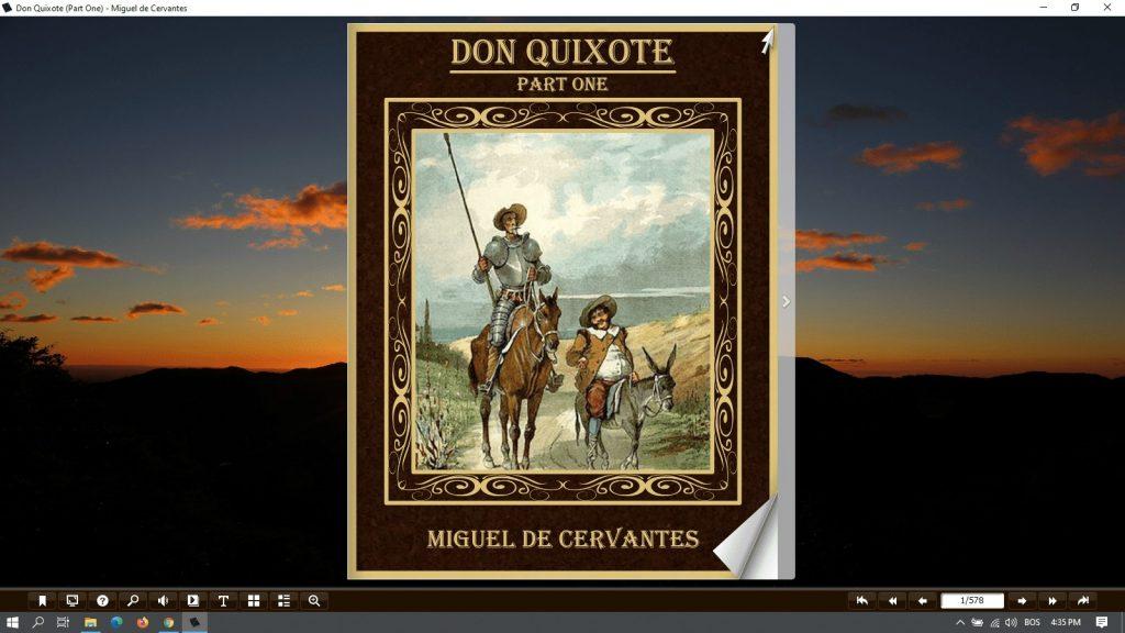 don quixote part one pdf