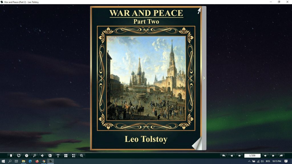 war and peace pdf part 2