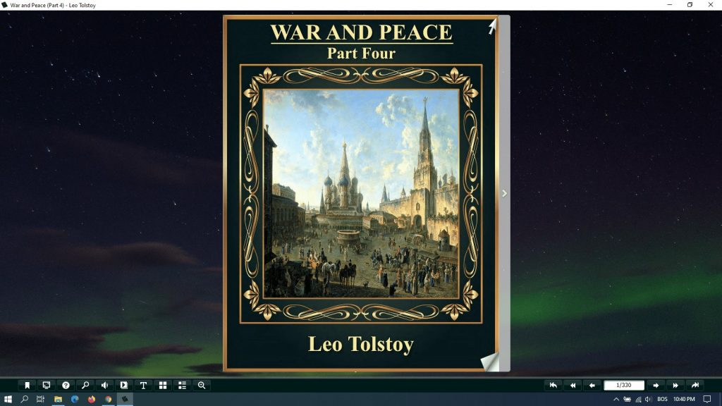 war and peace pdf part 4