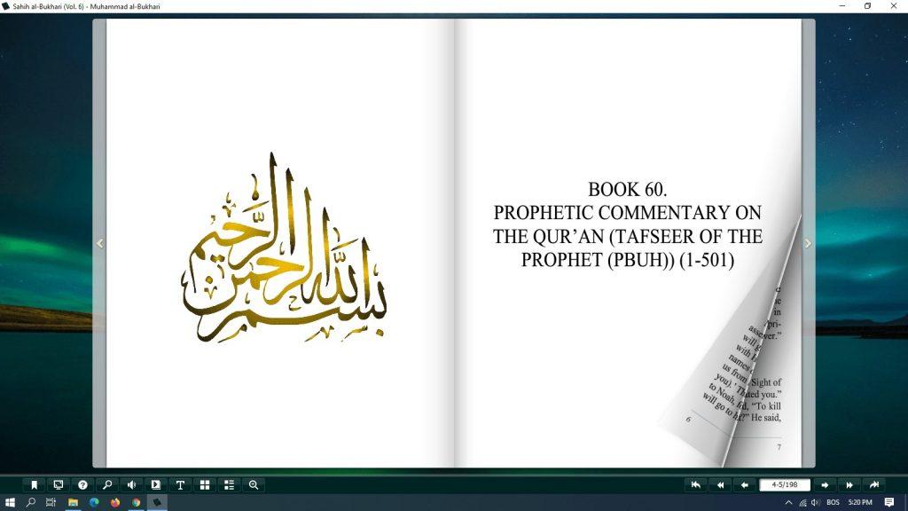 sahih al bukhari pdf free download