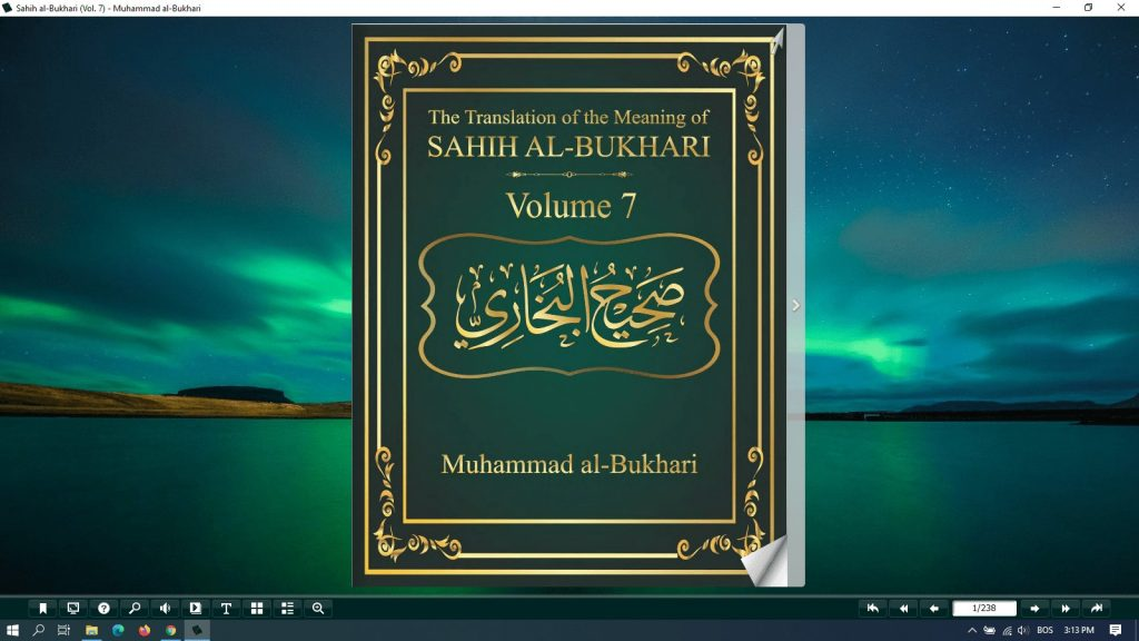 sahih al bukhari pdf - vol 7