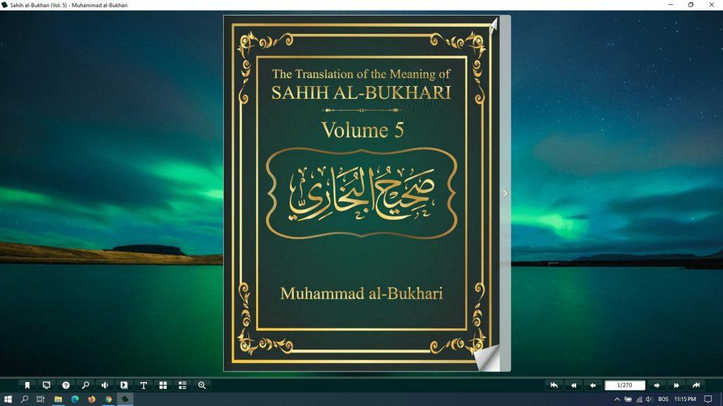 sahih al bukhari (vol 5) pdf