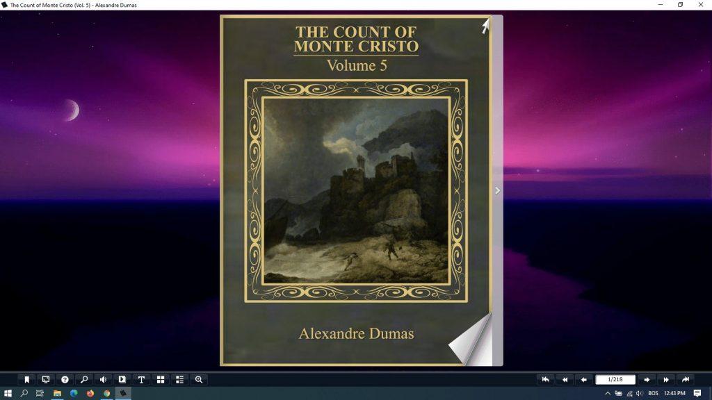 the count of monte cristo pdf - vol 5
